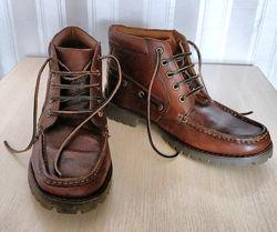 Ботинки кожаные Samuel Windsor муж разм 42, 5 Англия, новые
