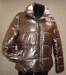 стёганная куртка BC by HEINE золотистая , 38 р 36 р