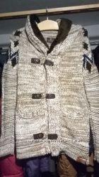 вязанная куртка свитер TAZZIO 14-421 M  супер