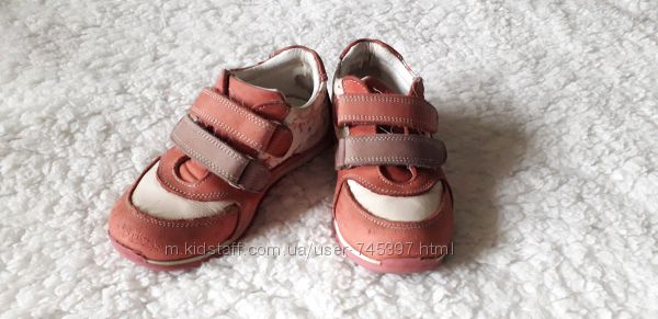 Кроссовки для девочки, р. 27 и р. 29 кожа