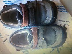 Кожанные демисезонные туфли Shagovita Беларусь