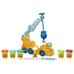 Play Doh Town Power Crane Playset Hasbro