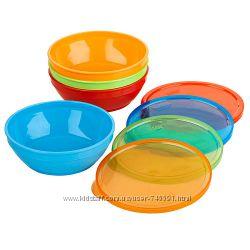 Посуда для первого прикорма ложечки и тарелочки Munchkin и Gerber