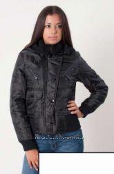 Женская чёрная куртка жiноча куртка для девочки деми весна осень