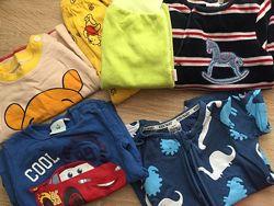 Пакет вещей для мальчика до 6 мес песочник человечек штанишки ромпер пижама