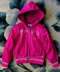 Курточка ветровка Napoleone Наполеоне, р. 4A, розовая, в идеальном сост.