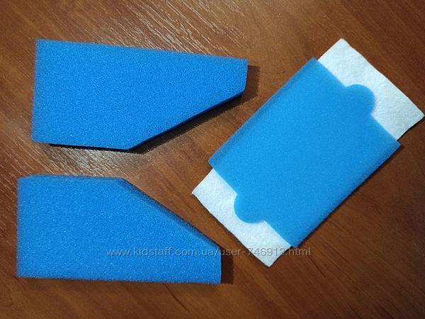 фильтры для пылесоса THOMAS Parkett  WAVE AQUA-BOX  XT ХS губки мочалки