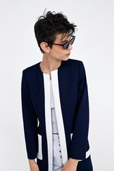 Zara стильное пальто жакет Л-XL деми