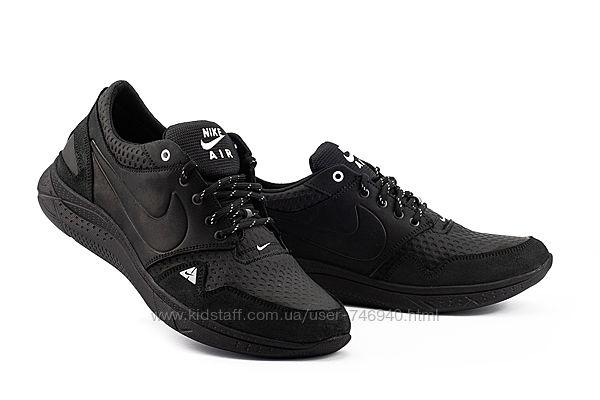 Кожаные мужские кроссовки Nike мужские кроссовки найк