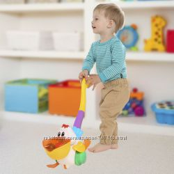 Игрушка-каталка музыкальный пеликан Kiddieland