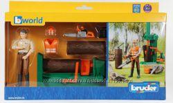 Набор дровосек со станком для колки дров Bruder 62650