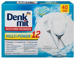 Таблетки для посудомоечных машин Denkmit Multi-Power 12 , 40шт