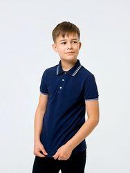 Школьная футболка-поло для мальчика Смил Smil 122-140р.