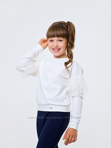 Школьный джемпер свитшот Смил Smil 128,134р. шкільний світшот Сміл