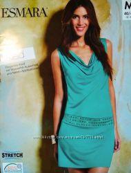 Женское летнее трикотажное платье Esmara Германия
