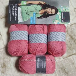 Набор 4 мотка пряжа 9 цветов нитки вязание