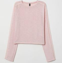 Нежный вискозный свитерок с кружевом H&M