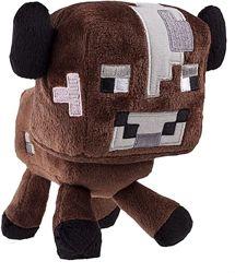 Мягкая игрушка Mайнкрафт Minecraft Корова 16 см коричневая оригинал.