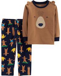 Пижама флисовая для мальчика Картерс Спячка р. 5