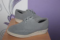 Класснючие кожаные замшевые туфли броги dr. martens разм 39 вьетнам