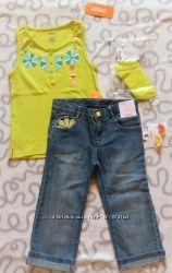 Літні комплекти для дівчаток 4-5-6 років від Gymboree