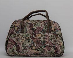 Стильная женская дорожная сумка с Бабочками
