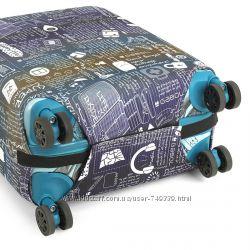 Брендовый защитный чехол для большого чемодана, Испания
