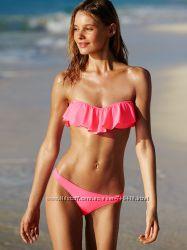 Яркий купальник с рюшей Victoria&acutes Secret