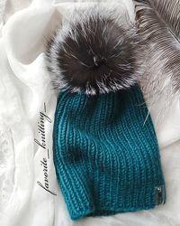 Шапки, повязки, комплекти вязані. Ручна робота