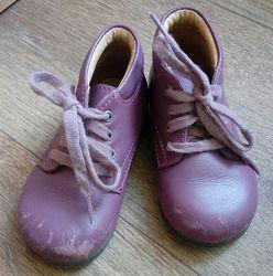 Кожанные ботинки деми Pat&Ripaton, размер 20 стелька 12,5 см