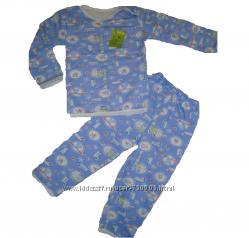 НОВАЯ пижамка на байке для мальчиков с р. 86-92. Последний размер