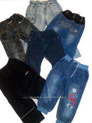 Джинсы, штаны и комбезы зимние и демисезонные для мальчика 2-4 лет