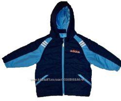 Демисезонная куртка ADIDAS оригинал, утепленная для мальчика 2-3 года