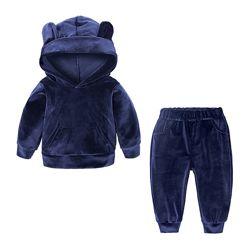 Мягкий удобный велюровый костюм для деток 80-120 см