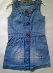 Платье из легкого хлопкового джинса, flexi. Турция