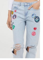 Рваные джинсы H&M , оригинал, выкуплены во Франции