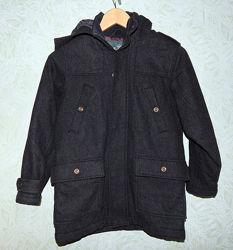 Пальто зимнее NEXT 9-10 лет шерсть