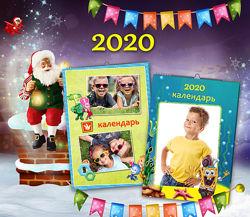 Календари 2020 с вашими фото.