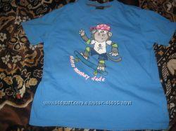 Продам футболку для мальчика Next бу, р 9