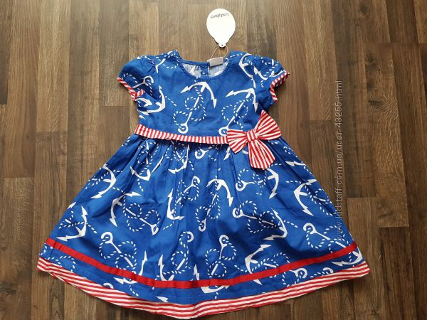 Новое платье Ladybird на 2-3 года
