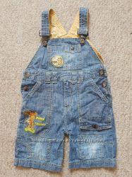 Тонкий джинсовый комбинезон Disney на 2 года