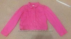Джинсовая куртка малинового цвета Gymboree
