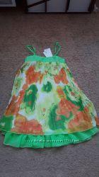 Итальянское платье - туника. Яркая и красивая, размер на 10лет