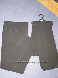 Школьные черные брюки мальчику M&S, 12-13 лет