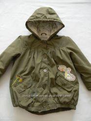 Деми куртка Next 116р очень стильная