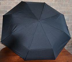 Надійна чоловіча парасолька напівавтомат 10 спиць. Zest.