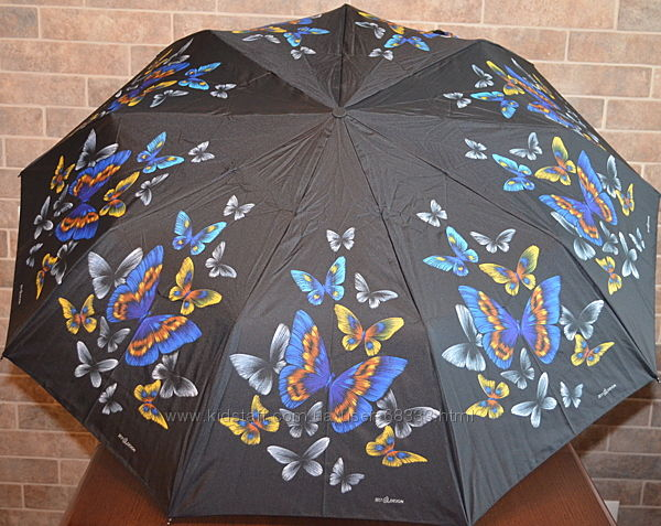 Жіноча парасолька, 9 спиць, повний автомат. Zest.
