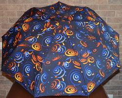 Жіноча парасолька Zest, повний автомат. 3 складення.
