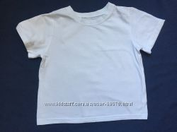Белая футболка рост 134