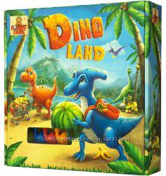 DINO LAND - настольный квест с модельками динозавриков